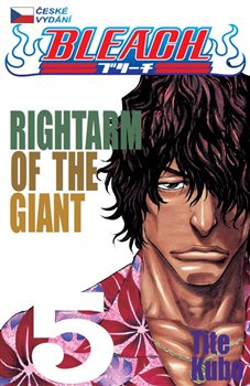 Obálka titulu Bleach 5: Rightarm of the Giant