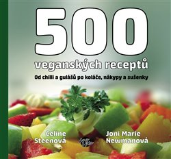 Obálka titulu 500 veganských receptů