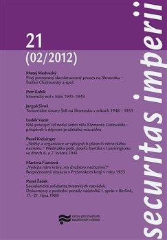 Obálka titulu Securitas Imperii 21 (02/2012)