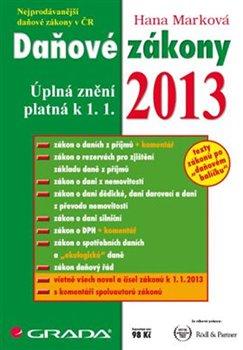 Daňové zákony 2013