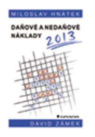 Daňové a nedaňové náklady 2013