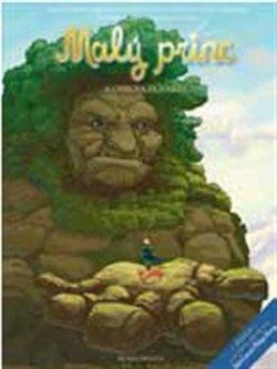 Obálka titulu Malý princ  a Obrova planeta