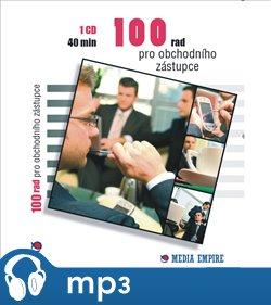 Obálka titulu 100 rad pro obchodního zástupce