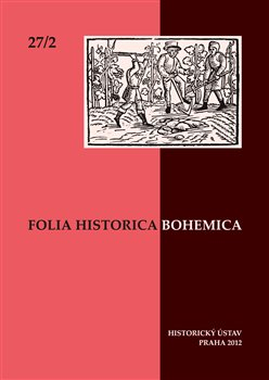 Obálka titulu Folia Historica Bohemica 27/2