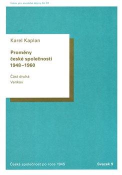 Obálka titulu Proměny české společnosti 1948-1960