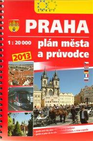 Praha. Plán města 2013