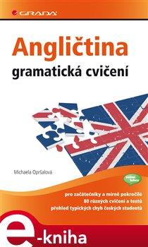 Obálka titulu Angličtina - gramatická cvičení