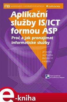 Obálka titulu Aplikační služby IS/ICT formou ASP