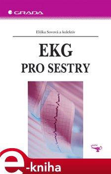 Obálka titulu EKG pro sestry