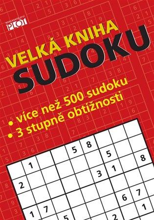 Velká kniha sudoku - Petr Sýkora   Booksquad.ink
