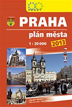 Praha plán města 2013 - 1:20 000