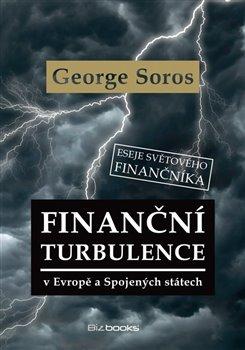 Obálka titulu Finanční turbulence v Evropě a Spojených státech