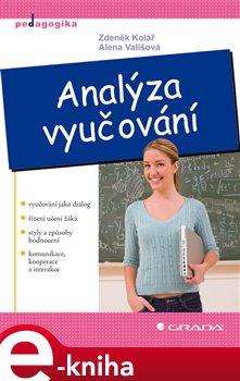 Obálka titulu Analýza vyučování