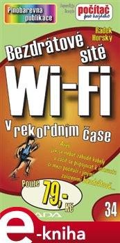 Obálka titulu Bezdrátové sítě Wi-Fi