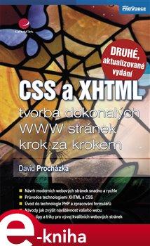 Obálka titulu CSS a XHTML