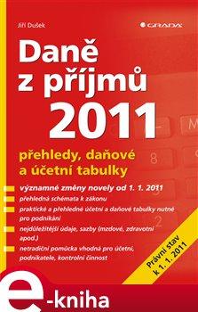 Obálka titulu Daně z příjmů 2011