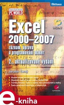 Obálka titulu Excel 2000-2007