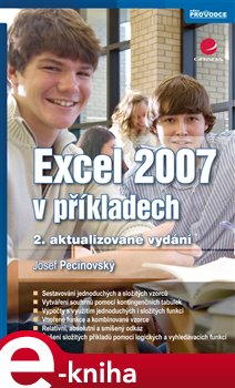 Obálka titulu Excel 2007 v příkladech