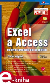 Obálka titulu Excel a Access
