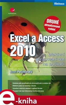 Obálka titulu Excel a Access 2010 - efektivní zpracování dat na počítači