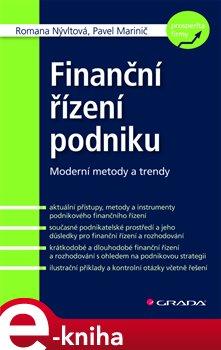 Obálka titulu Finanční řízení podniku