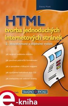 Obálka titulu HTML - tvorba jednoduchých internetových stránek