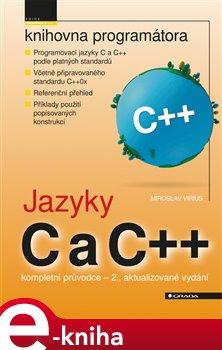 Obálka titulu Jazyky C a C++