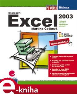 Excel 2003. podrobný průvodce začínajícího uživatele - Martina Češková e-kniha