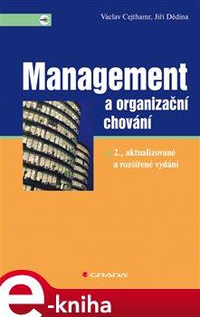 Obálka titulu Management a organizační chování