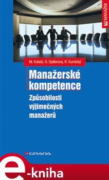Obálka titulu Manažerské kompetence