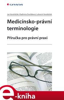 Obálka titulu Medicínsko-právní terminologie