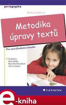 Obálka titulu Metodika úpravy textů
