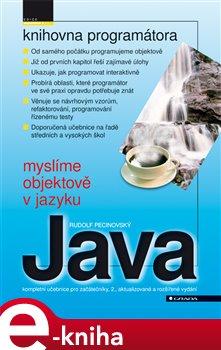 Obálka titulu Myslíme objektově v jazyku Java
