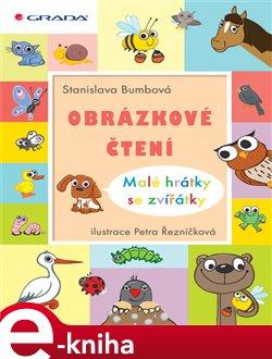 Obálka titulu Obrázkové čtení  - Malé hrátky se zvířátky