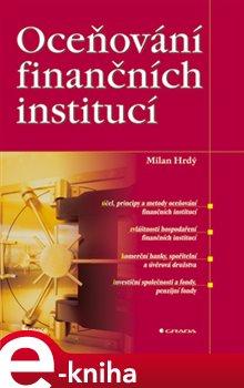 Obálka titulu Oceňování finančních institucí