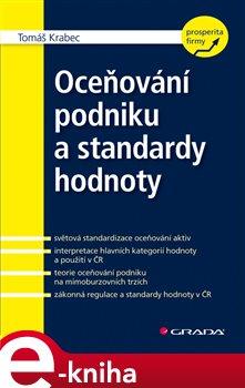 Obálka titulu Oceňování podniku a standardy hodnoty
