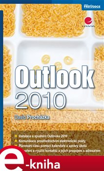 Obálka titulu Outlook 2010