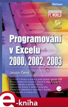 Obálka titulu Programování v Excelu 2000, 2002, 2003