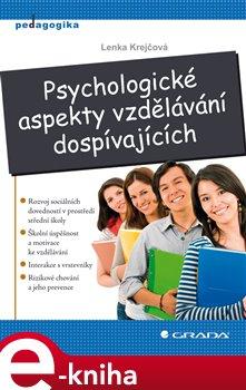 Obálka titulu Psychologické aspekty vzdělávání dospívajících