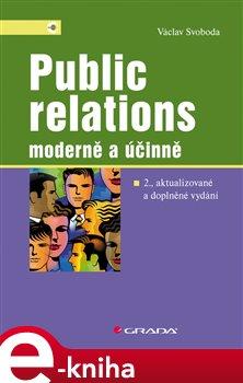 Obálka titulu Public relations - moderně a účinně