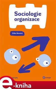 Obálka titulu Sociologie organizace