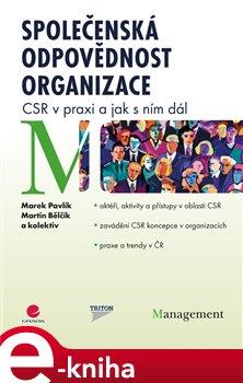 Obálka titulu Společenská odpovědnost organizace