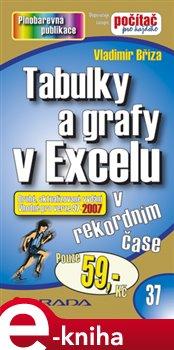 Obálka titulu Tabulky a grafy v Excelu