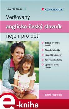 Obálka titulu Veršovaný anglicko-český slovník nejen pro děti