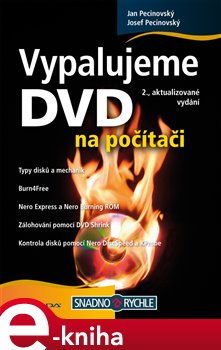 Obálka titulu Vypalujeme DVD na počítači