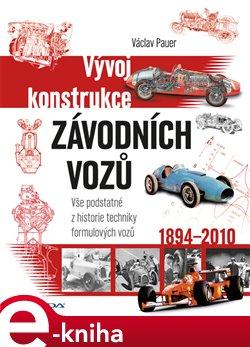 Obálka titulu Vývoj konstrukce závodních vozů