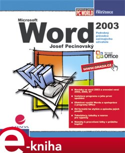 Obálka titulu Word 2003