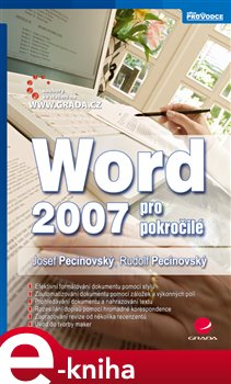 Obálka titulu Word 2007 pro pokročilé