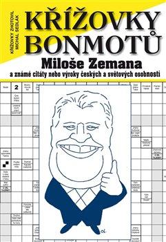 Obálka titulu Křížovky bonmotů Miloše Zemana
