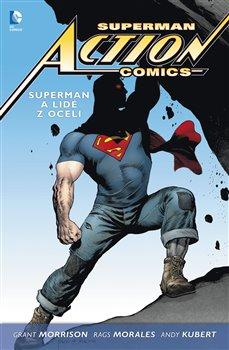 Obálka titulu Superman Action comics 1: Superman a lidé z oceli